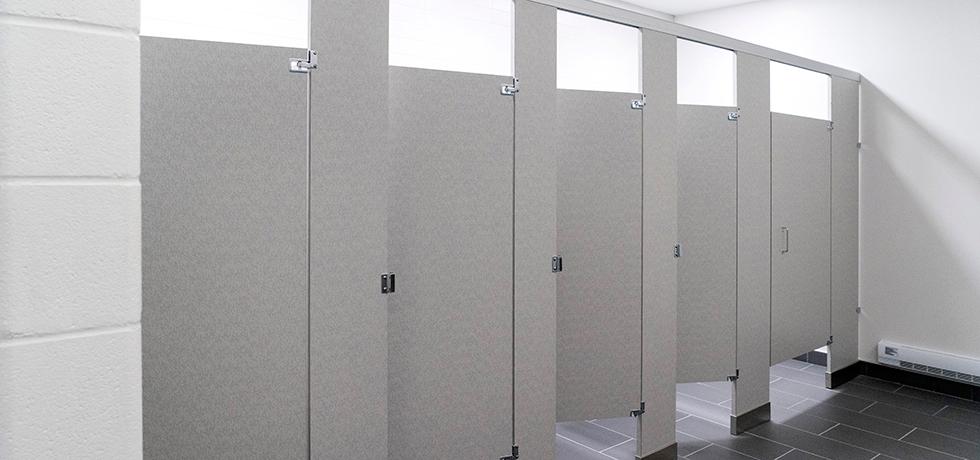 school bathroom. School Bathroom O