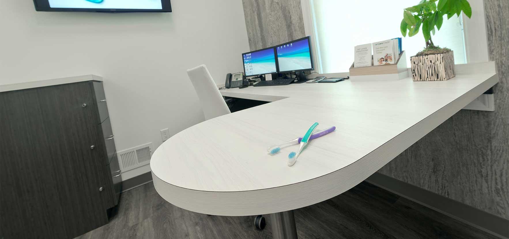 Application Nj Laser Dentistry Consultation Room