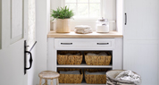 As Seen in Country Living's 2015 Makeover Takeover with Truss Maple Laminate