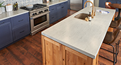 Spanish Modern | Solid Surface Countertops