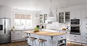 Natural Light Envy | A Classic Kitchen