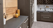 Grey Lake Quartz Bar Countertop