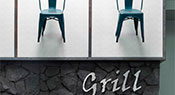 Island Pacific Supermarket | Grill Sign