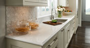 Haida Quartz | Dimensional Detail Kitchen