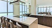 Miami Diplomat Condo | Sleek Modern Kitchen