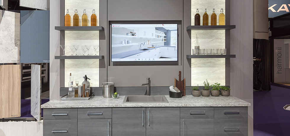 KBIS 2018 | Galley Kitchen | Material Mixology