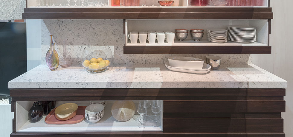 KBIS 2018 | Pantry | Reticulated Cabinets