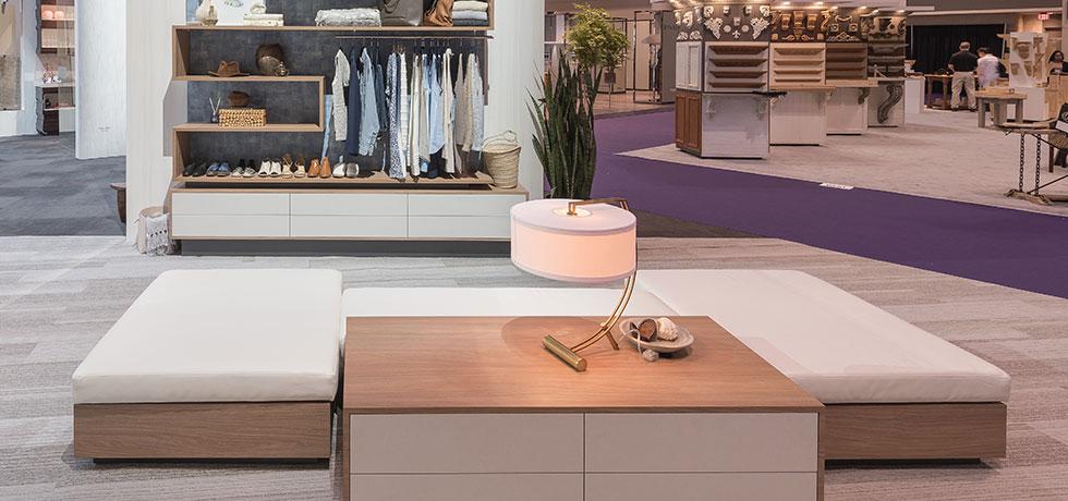 KBIS 2018 | Wardrobe | Warm Modern