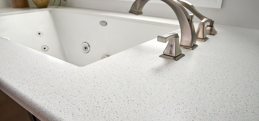 Morning Ice | Solid Surface Bath | A Beautiful White Quartz Look Full Of  Medium Scale ...