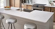 North Cascades Quartz | Residential Kitchen