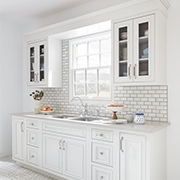 Colonial Kitchen | Wilsonart Quartz