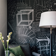 Kerry Washington For Naturally, Danny Seo | Chalkboard Laminate