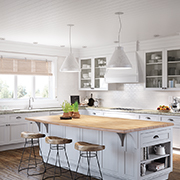 Natural Light Envy | A Classic Kitchen