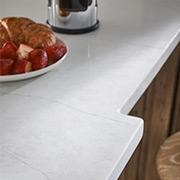 Charming Bespoke Kitchen | Quartz in Marble Falls