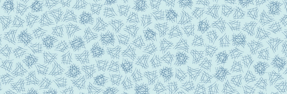 Dancing Lines Blue Ice