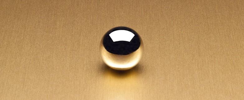 Satin Brushed Gold Aluminum 6258 Decorative Metal Countertops