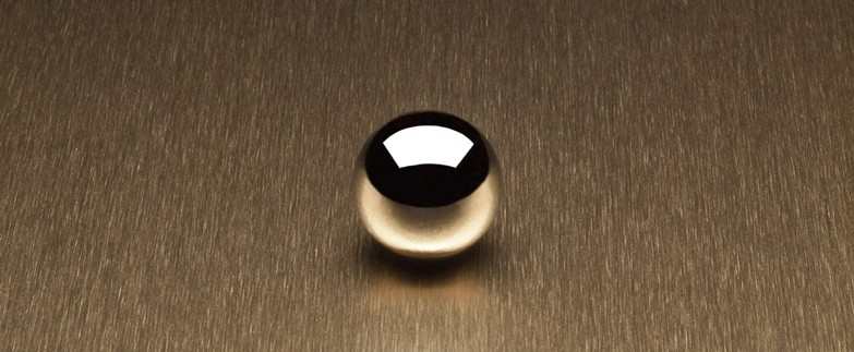 Satin Brushed Lite Bronze Aluminum 6261 Decorative Metal Countertops