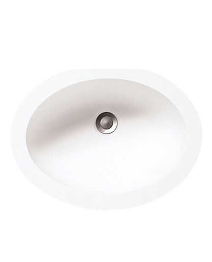 Small Oval Vanity BV1410 Sinks Countertops