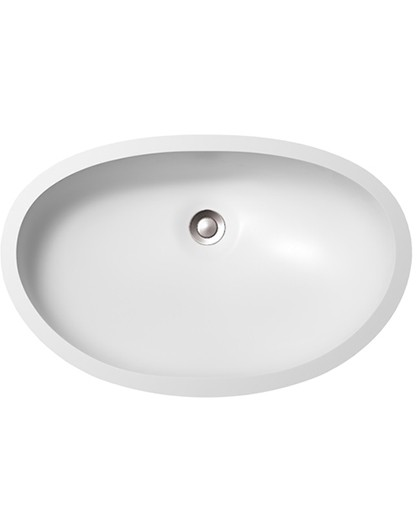 Large Oval BV1711 Sinks Countertops