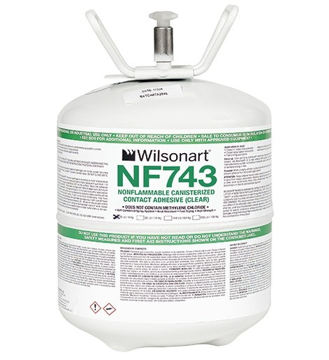 Wilsonart® NF742/743 Nonflammable Fast Drying Canister Contact Adhesive WA-NF742/743 Adhesive Countertops
