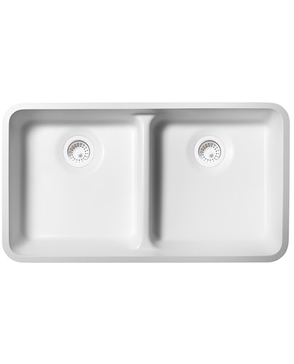 Double Equal ADA Kitchen Sink BD2916-UD Sinks Countertops