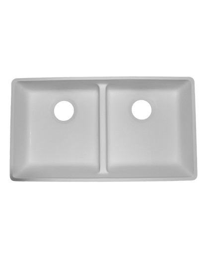Double Equal ADA Kitchen Sink AD2916 Sinks Countertops