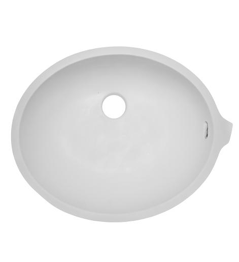 Oval ADA Vanity Bowl AV1512 Sinks Countertops