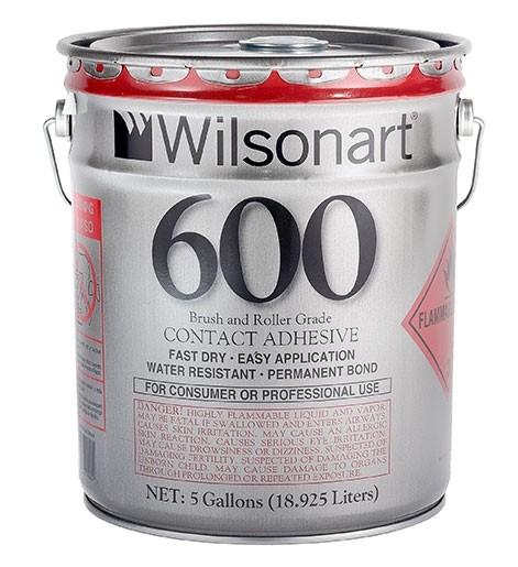 Wilsonart® 600 Consumer Brush/Roller Grade Contact Adhesive WA-600 Adhesive Countertops