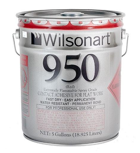 Wilsonart® 950/951 Flatwork Spray Grade Contact Adhesive WA-950 Adhesive Countertops
