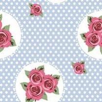 Polka dot rosa 22