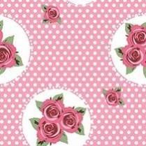 Polka dot rosa 23