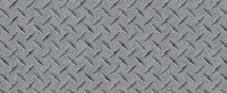 High pressure laminate silver diamond plate y0539 for Zinc laminate